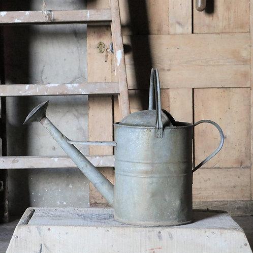 Galvanised Vintage Watering Can 2L