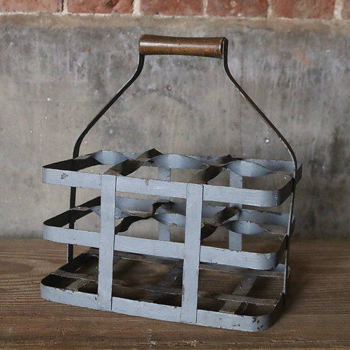 French Wine Bottle Carrier