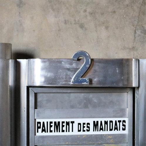 Original Vintage French Enamel Sign