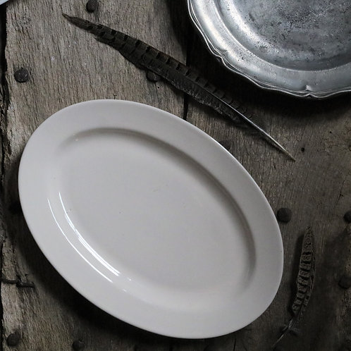 Extra Large French Vintage Oval Platter