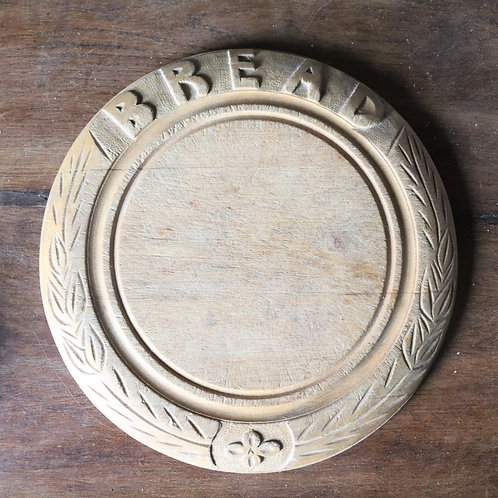 Antique Hand-carved Bread Board