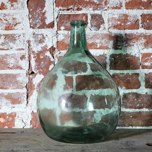Vintage Green Glass Carboy
