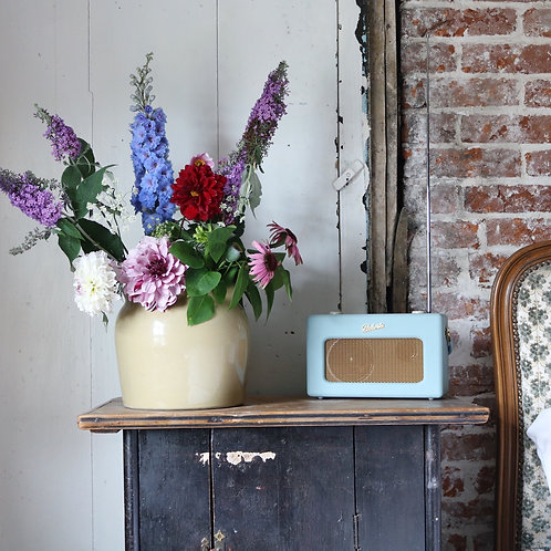 Stoneware Confit Pot Vase