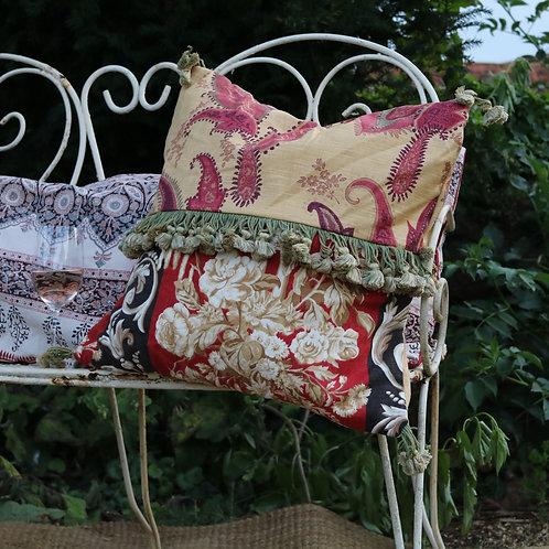 Vintage Sandersons Fabric Autumn Cushions