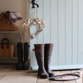 Coastal Living; Gardener's Cottage, Blakeney, Norfolk.