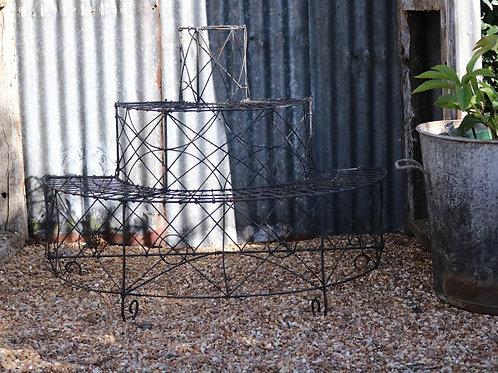 Victorian Wirework Three Tier Plant Pot Stand