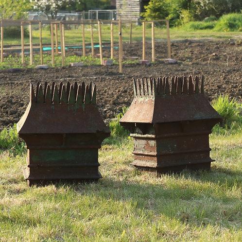 cast iron planters