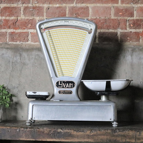 Vintage Fromagerie Shop Scales