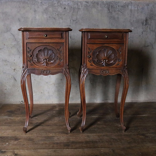 Rococo Pair of French Bedsides