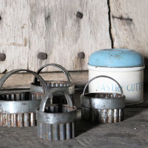 Tala Vintage Pastry Cutters