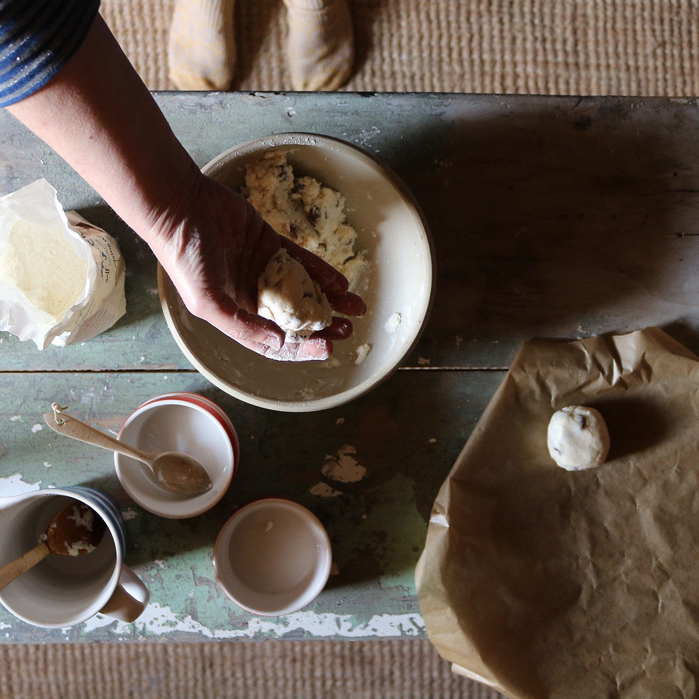 how to make gluten free scones rise