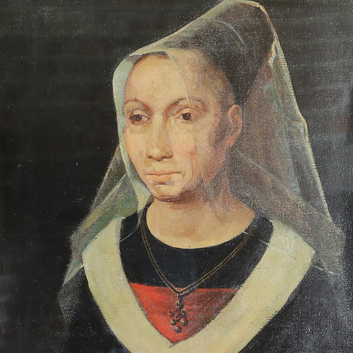 Portrait of a Lady Oil on Canvas