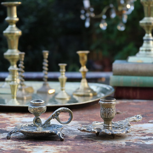 Decorate Brass Candle Holders