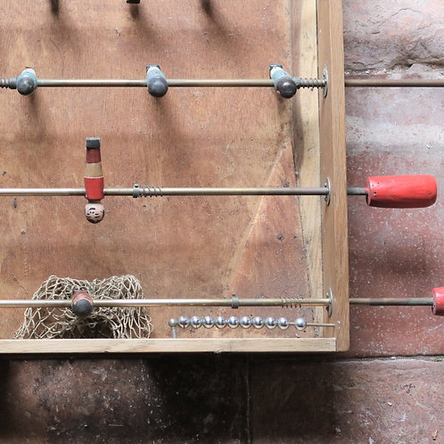 Handmade Vintage Table Football