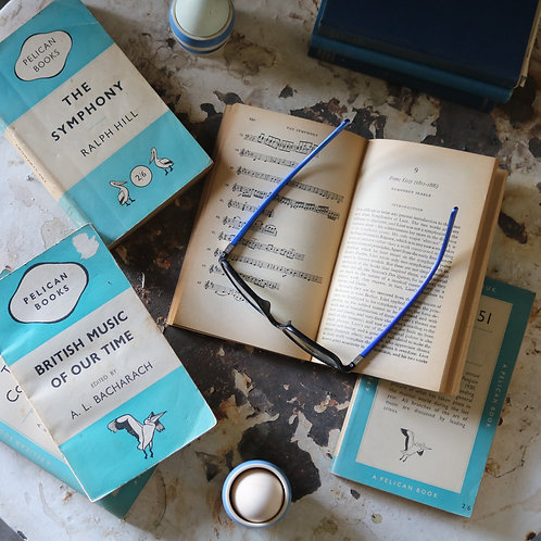 Turquoise Pelican Music Book Bundle