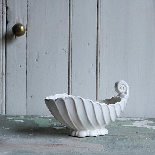 Vintage Shell Vase Planter by Kensington