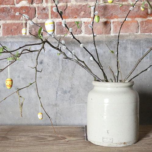 Large French Vintage Stoneware Jar