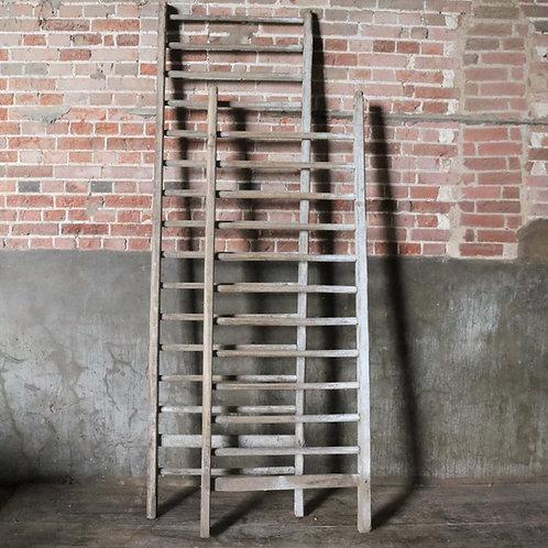 Extra Wide Rustic Vintage Ladders