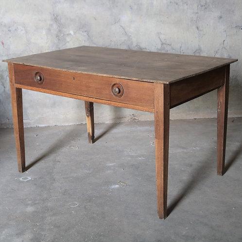 Antique French Oak Farmhouse Kitchen Table
