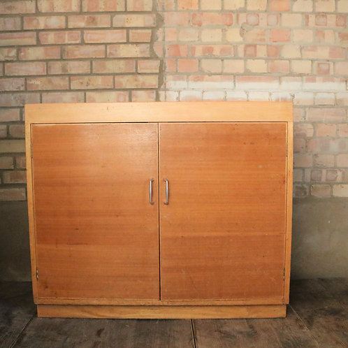 Mid Century School Cupboard