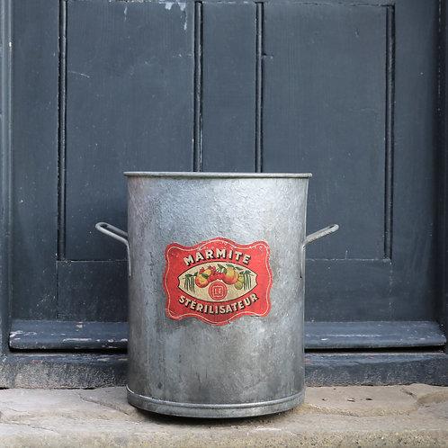 Galvanised Bucket Planter