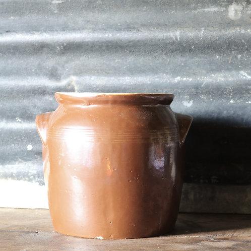French Rustic Confit Pot Medium