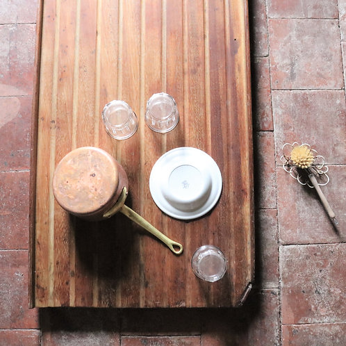 Extra Long Vintage Wooden Draining Board