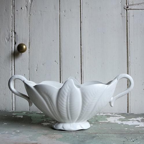 Handles Mantle Vase Leaf Design by Arthur Wood
