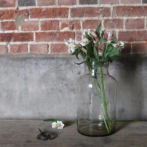 Large Vintage Glass Preserve Jar
