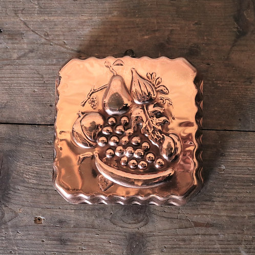 Copper Tin with Fruit