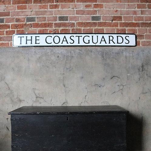 The Coastguards - Original Street Sign