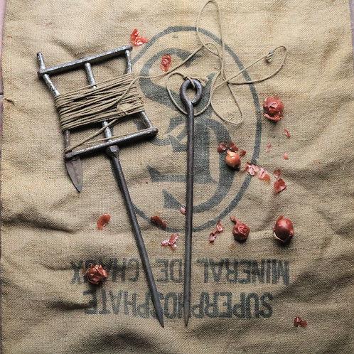 Vintage Garden String Seed Line Row