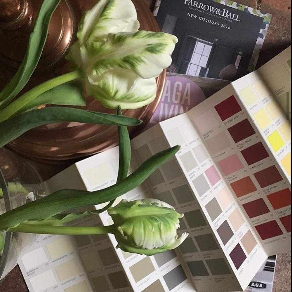 Paint, paint colour charts, colour chart, farrow and ball, little greene, Mylands