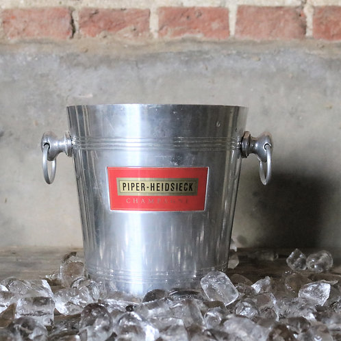 Piper Heidseick Aluminium Champagne Ice Bucket Cooler