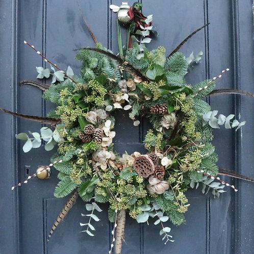 Luxury Christmas Wreath Making Norfolk