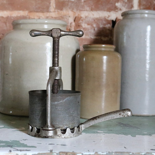 French Vintage Meat Press