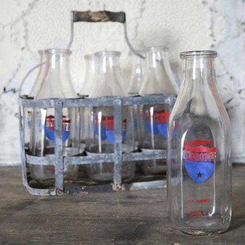 Abbott's  All Star Dairies Milk Bottles Deadstock