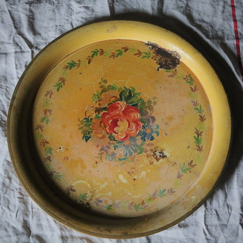 Handpainted Toleware Tray