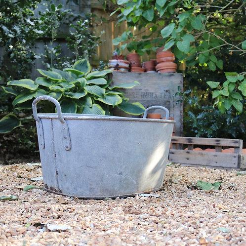 Galvanised Zinc Planter Bath Heavy Duty