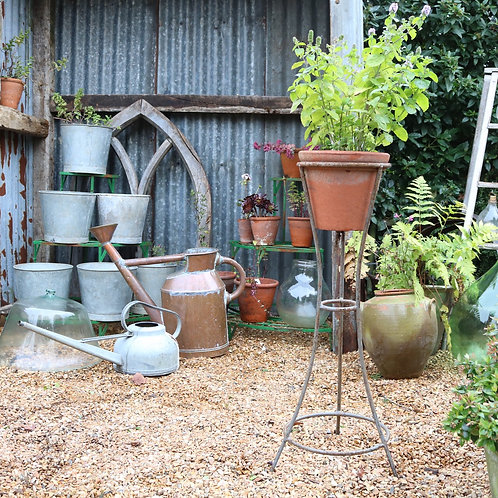 Wrought Iron Metal Plant Pot Stand