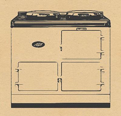 Standard Aga  2 Ovens