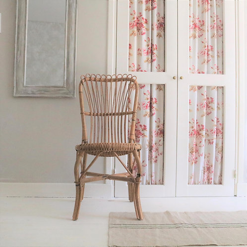 Vintage French Cane Chair