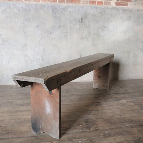 Rustic French Bench