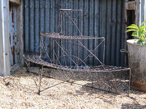 Victorian Wirework Three Tier Flower Pot Stand