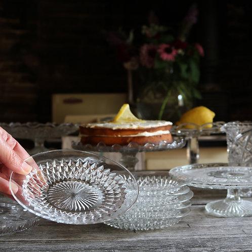 Glass Cake Plates