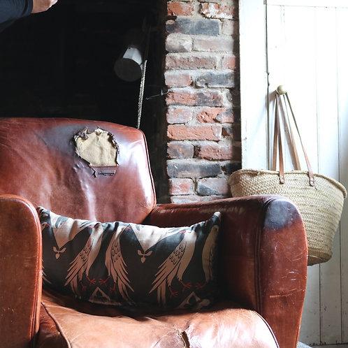 Vintage Fabric Cushion rectangular
