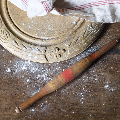 Stripe Indian Chapati Rolling Pin