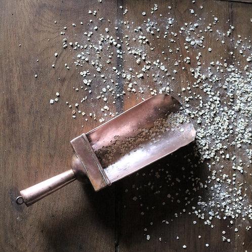 Antique Copper Grain Scoop