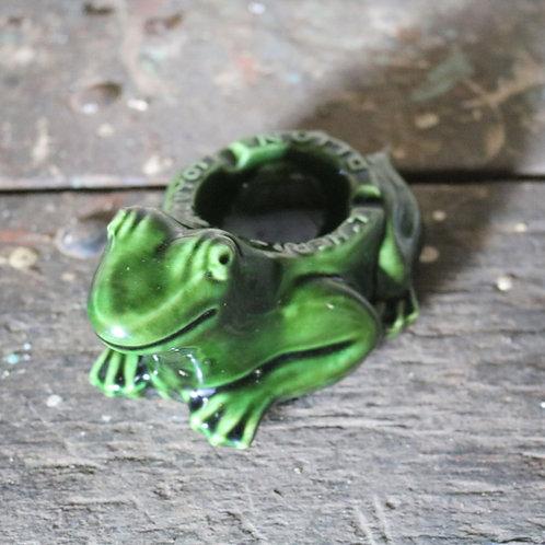 L'Héritier Ceramic Guyot Frog Ashtray