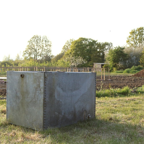 Galvanised Steel Planter